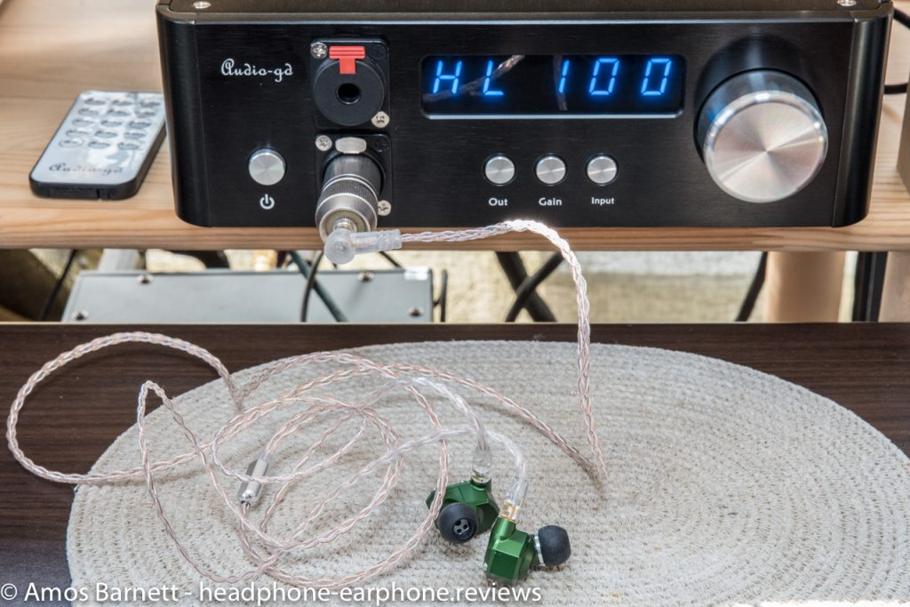 Audio-gd NFB-1AMP Campfire Audio Andromedas