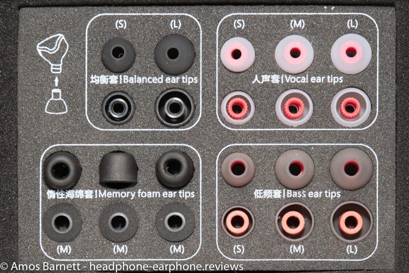 FiiO FH5 eartips
