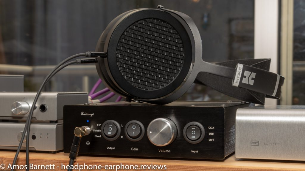 Audio-gd R2R 11 with HiFiMan Sundara