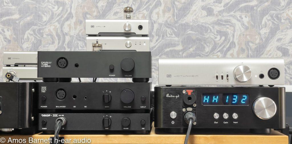 Schiit Jotunheim 2, Audio-gd NFB-1AMP, Drop THX amps and Schiit Vali 2+ and Modi Multibit