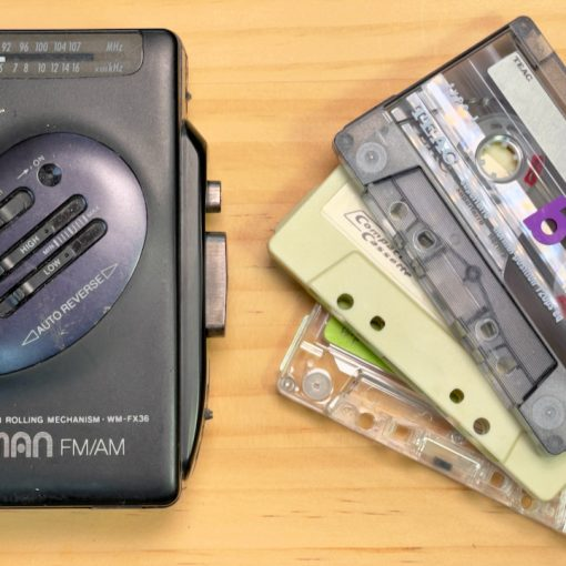 Sony Walkman and casettes