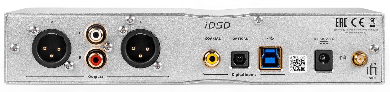 iFi Neo iDSD rear